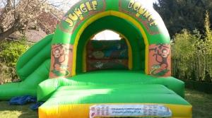 Jungle Bounce & Slide 17ft x 15ft