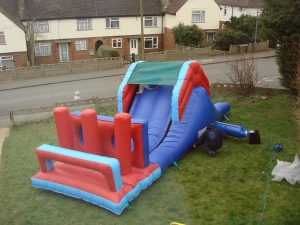 27 ft obstacle course