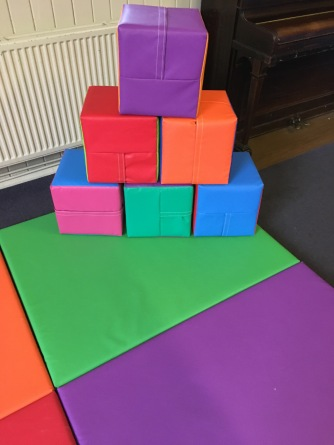 12 inch soft play cubes